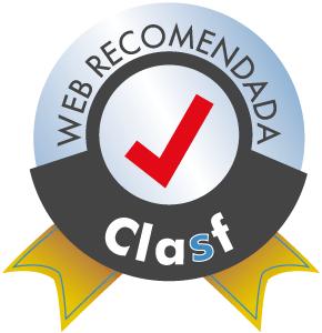 Sello web recomendada Clasf