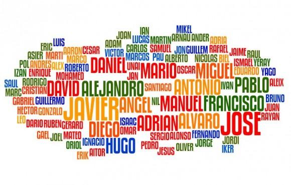 Los nombres más comunes en Argentina