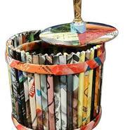 Cómo reciclar revistas viejas (Video)