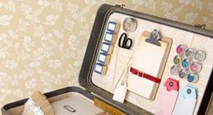 Reciclar maletas antiguas