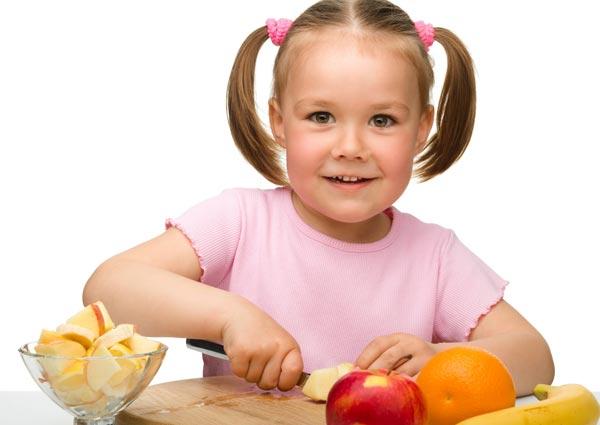 Cómo lograr que los niños coman sano